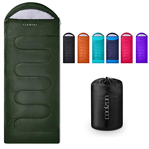 Lightweight Backpacking Sleeping Bag for Adults Boys and Girls, Cold Weather Kids Sleeping Bag for All Season Hiking & Camping