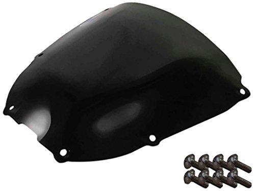 Yamaha Yzf 600R 97-06 Sportbike Windscreens ADYW-300S Smoke Windscreen With Silver screw kit 2 Pack