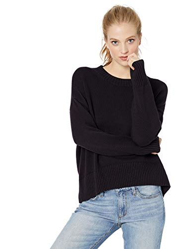 Daily Ritual Amazon Brand Daily Ritual Women's 100% Cotton Boxy Crewneck Pullover Sweater, Navy, XX Large from Amazon | Daily Mail