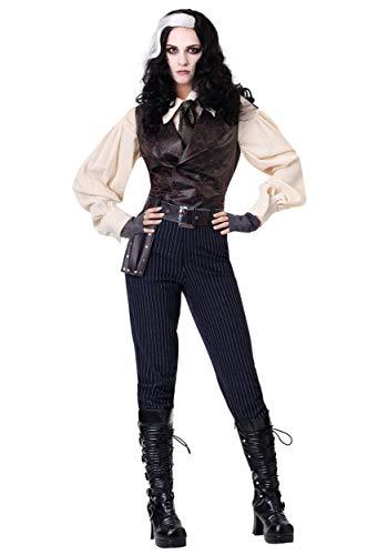 Female Sweeney Todd Costume Medium Black