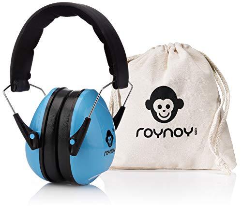 roynoy   Gehörschutz Kinder und Baby   ab 2 Jahre   Ohrenschutz Kinder   Ohrenschützer   Lärmschutz Baby   Lärmschutzkopfhörer Kinder (blau)