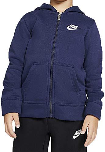 Nike Chłopięce niebieskie kurtki 86F321U90
