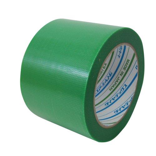 ダイヤテックス パイオランクロス 養生用テープ 緑 75mm×25m 18巻入り Y-09-GR [マスキングテープ]