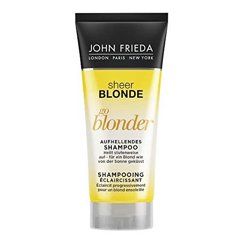 John Frieda Sheer Blonde Go Blonder Shampoo - 50 ml - Ideal für Gastronomie, Hotel und Reisen - Hotellerie- und Reisegröße 6er Pack(6 x 50 milliliters)