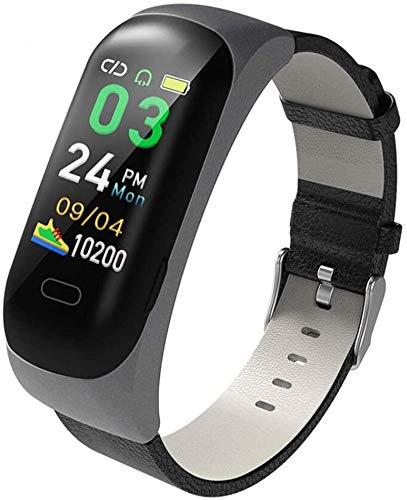 LLZYZJ Fitness Tracker Bluetooth Headphone Smart Bracelet 2 in 1, Smart Watch,Wireless Sport Earphone,Intelligent Voice,Fitness Tracker with Heart Rate Blood Pressure Sleep Health for Men,Women