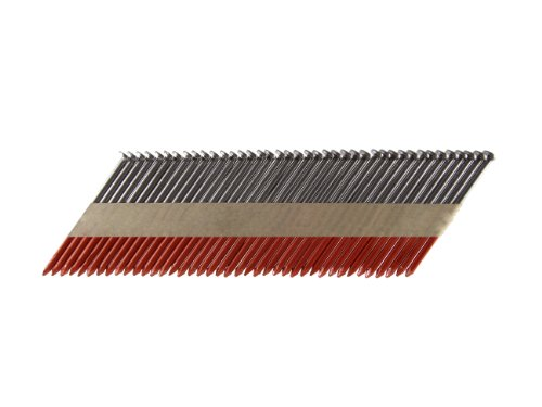 B&C Eagle 3X120/33 Offset Round Head 3-Inch x .120 x 33 Degree Bright Smooth Shank Paper Tape Collated Framing Nails (2,500 per box)