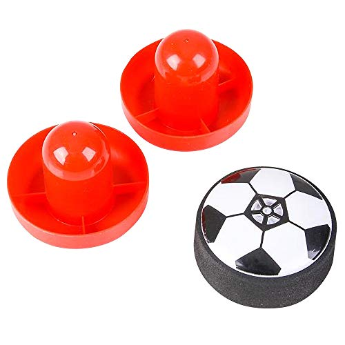 ArtCreativity 3 Inch Air Soccer Table Top Game  Fun New Indoor Game for Kids and Adults  Includes 2 Mallets and 1 Puck Gliding Air Hockey Dynamics  Best Gift Idea for Boys and Girls