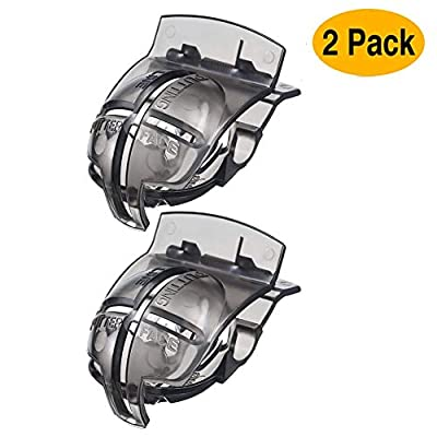 Strailboard Golf Ball Line Liner Golf Accessories Golf Ball Line Markers Drawing Marking Alignment Putting Tool, 2 Pack
