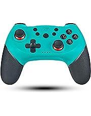 Mando para Switch Inalámbrico, Maegoo Bluetooth Switch Pro Mando Gamepad Joypad Joystick Compatible con Nintendo Switch Admite Sensor 6 Gyro Axis, Turbo y Dual Motor Vibration