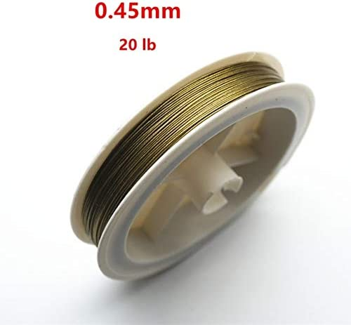 Laliva 50M Roll Silver Tone ! Super beauty product restock quality top! Beading Over item handling ☆ 0.6mm 0.35 0.45 0.5 0.3 Wire