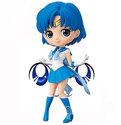 Q Posket Sailor Moon Eternal Super Sailor Mercurio (versión A)