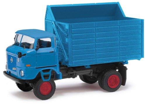 Busch Voitures - BUV95205 - Modélisme - Camion W 50LA SHA - Zirkus Probst - Bleu