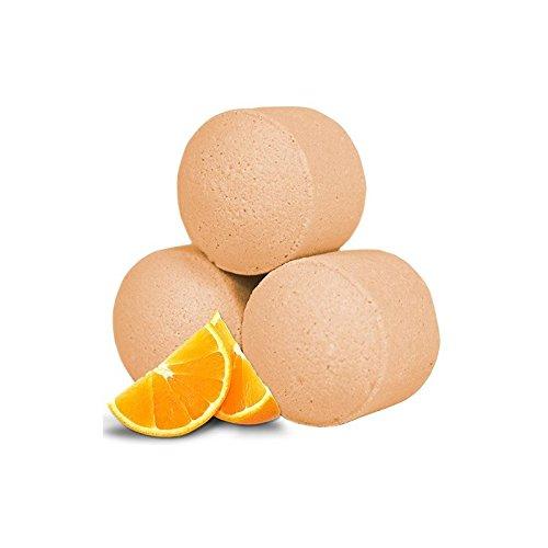 Sachet de 10 minis boules de bain - Orange Frais