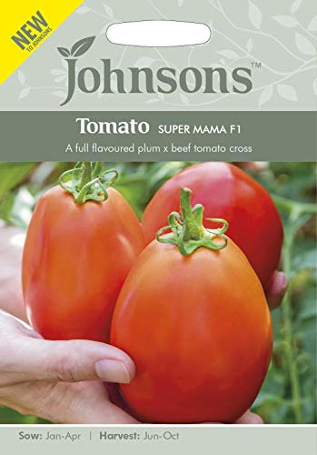 Johnsons Graines de tomate Super Mama F1-10