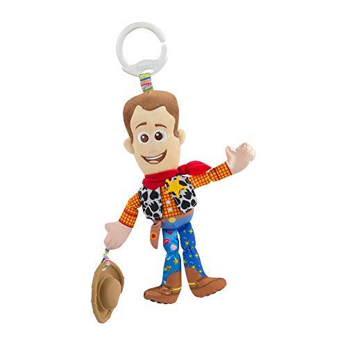 Lamaze Toy Story - Woody, Peluche Bébé À Clip pour Berceau Ou Poussette L27260, TOMY Officiel, Jouet D'éveil Bébé, Peluche Sensorielle Multicolore Convient Dès La Naissance