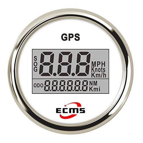 52mm 2 Zoll Digital LCD GPS Tachometer für Motorrad/Marine Boote/Fahrzeug wasserdicht IP67 Multimeter Digital Tester