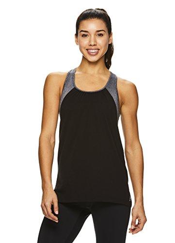 HEAD Women's Racerback Workout Tank Top - Ladies Activewear Shirt w/Open Back Detail