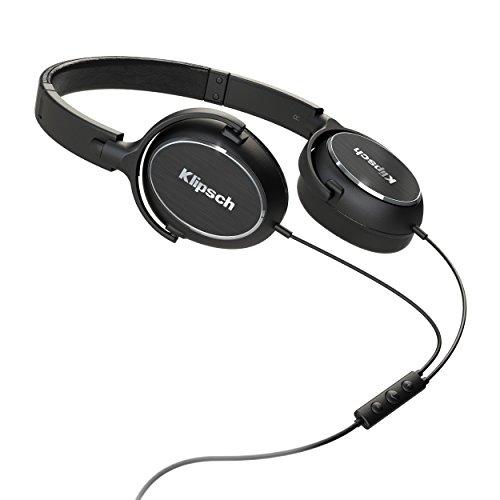 Klipsch R6i On-Ear Schwarz Ohraufliegend Kopfband - Kopfhörer (Ohraufliegend, Kopfband, Verkabelt, 20-20000 Hz, 110 dB, Schwarz)