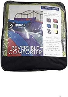 Bombay Dyeing Microfibre 150 TC Reversible Comforter (Single_Yellow)