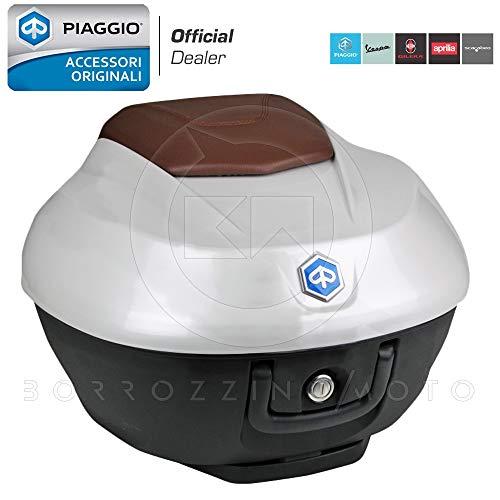 BAULETTO BEVERLY 300 350 EURO4 36L BIANCO ICEBERG 505A ORIGINALE PIAGGIO