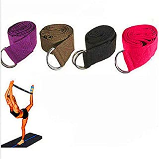 "FD1599 Yoga Stretch Strap Training Belt 70.08"" Yoga Excrise Tool ~Random~ 1PC\"