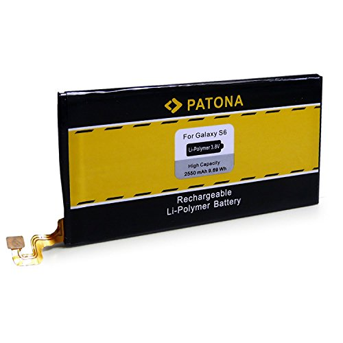 PATONA Bateria EB-BG920ABE, SM-G920 Compatible con Samsung S6, Conjunto de Herramientas Incluyendo
