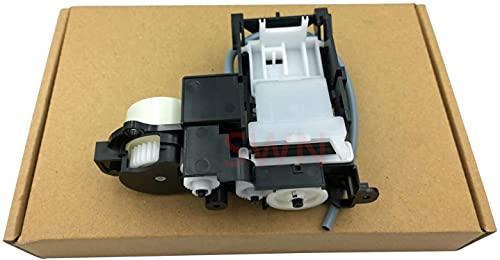 Nueva estación de tapado de piezas de impresora duradera y duradera para EPSON A50 P50 T50 T59 T60 R260 R270 L800 L801 L805 R285 R280 R390 Conjunto de sistema de tinta de montaje de bomba (Color: 5 pi
