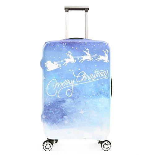 "Dometool Luggage Cover Proteggi Valigia Protettore dei Bagagli Valigia Borsa Elastica Suitcase Cover Proteggi Bagagli,Fits 22""-24"""