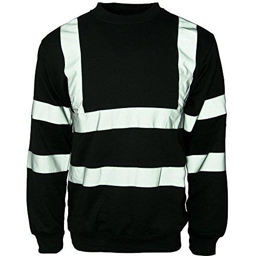Sweat-shirt de sécurité à col rond pour homme - - XXXX-Large