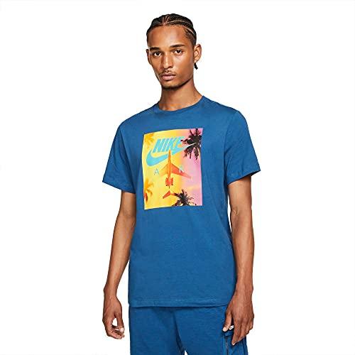 Nike Swoosh By Air Photo T-Shirt, White, XXL Uomo