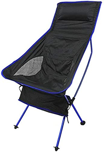 WFHGFDF Chaise Pliante Chaises Pliantes Portatives Chaise De Pêche en Alliage D'aluminium 600d Oxford Camping Chair Outdoor Picnic BBQ Beach Chairs with Bag Orange A12 (en)