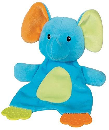 Spiel AG Baby Schmusetuch Plüschtier Elefant mit 2 Beißecken 22 cm