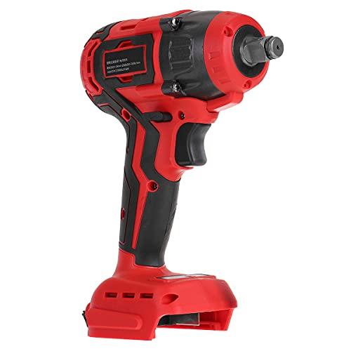 SISHUINIANHUA Cacciavite Elettrico a Cordoncino 18V Brushless Impact Wrench Drill Drill Drill Hammer con Luce