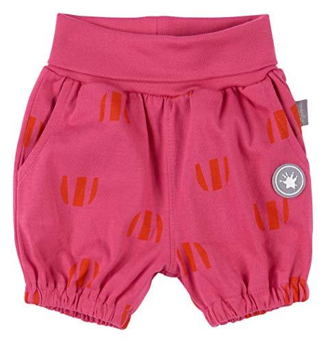Sigikid Baby-Mädchen Shorts Hose, Blau/595, Rosa, 74