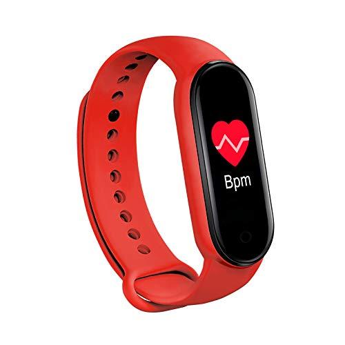 PANYUE Pulsera inteligente de fitness, monitor de salud, podómetro con detector de presión arterial de frecuencia cardíaca, pulsera para mujeres y hombres