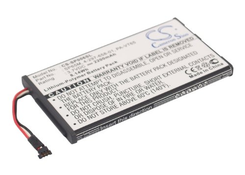 2200mAh Battery Replacement for Sony PCH-1001 PCH-1006 PCH-1101 Playstation Vita PS Vita 4-297-658-01 PA-VT65 SP65M