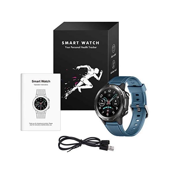 Vigorun Smartwatch Reloj Inteligente Hombre Mujer, Pantalla Táctil Completa Relojes Deportivos, Monitor Ritmo Cardíaco y… 8