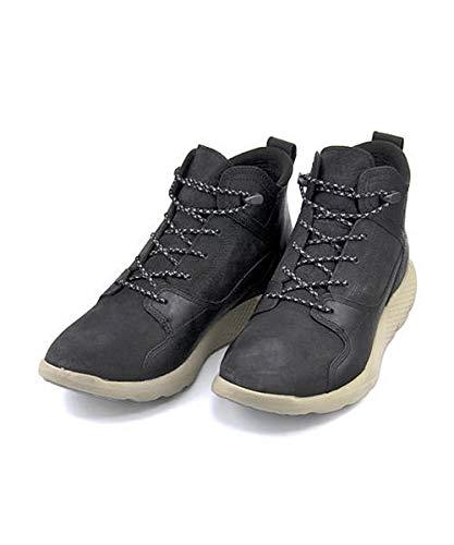 [ティンバーランド] メンズ ハイカット スニーカー ブーツ フライロームレザースポーツチャッカ ワイド カジュアル トラベル ウォーキング FLYROAM LEATHER SPORT CHUKKA A1HS1 ブラック 25.0cm