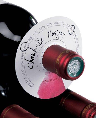 L'ATELIER DU VIN – Discos para la cava - Diferencie sus vinos de un vistazo - 80 discos