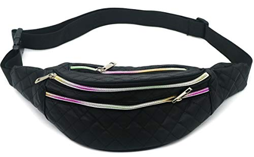 Dielay Dames Fanny Pack Festival Tas Heuptas Hip Pack Waist Bag 37x14cm