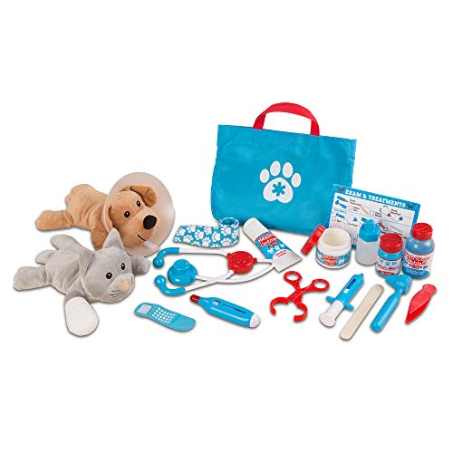 Image of the Melissa & Doug Pet Vet Play Set