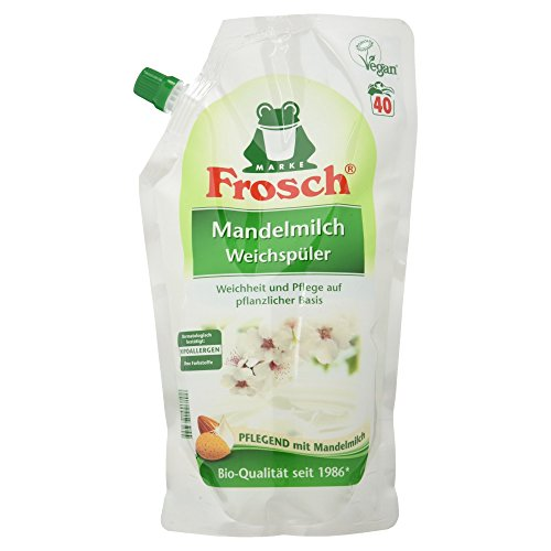Frosch Mandelmilch Weichspüler, 40 Waschladungen