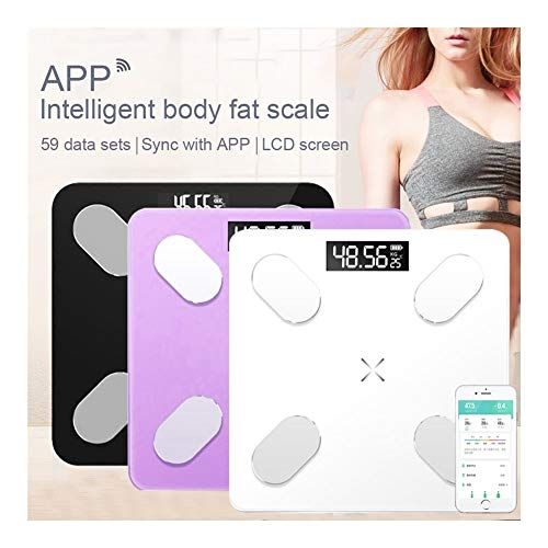 Scales for Body Weight, Bathroom weight Scales Floor Digital Body Fat Scales Bluetooth Electronic Outdoor mini Smart Weighing Composition Analyzer Best Fitness Weight Loss Scale Health Monitor