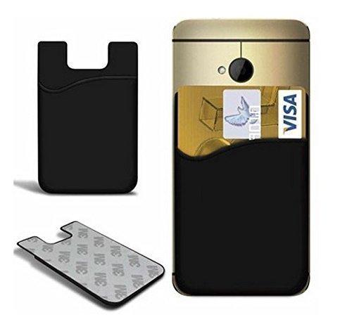 Deet ® Echtes hochwertiges Leder Flip Case Tasche für HTC One M8, Handy, 2 Display Schutzfolie Stück-in - 1 Paket [] Stylus Pen