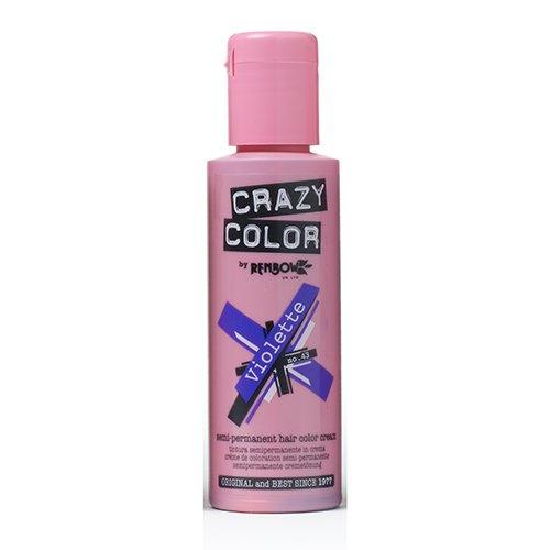 Crazy Color Violette Nº 43 Crema Colorante del Cabello Semi