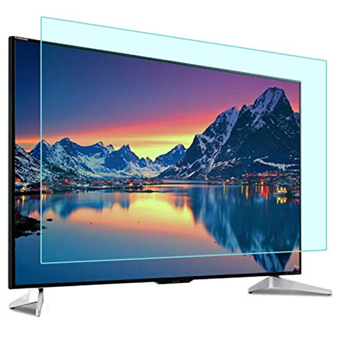 AWSAD Anti Blue TV Screen Protector for 32-75 Inch, Light Anti Glare Relieve Screen Filter (Color : HD version, Size : 49 inch/1075x604mm)