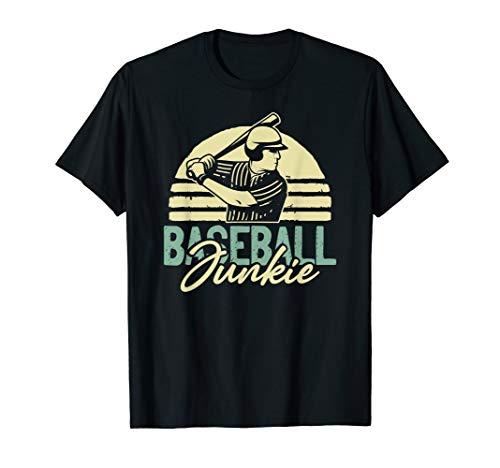 Proud Favorite Player Mom Daughter Girl Gift Baseball Junkie T-Shirt