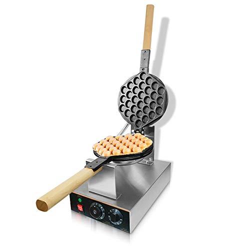 Gaufrier Professionnel, Appareil Croque Monsieur, Gauffrier Bubble Waffle Gaufrier Gaufrette Machine a Gaufre, Revêtement Anti-adhésif, Acier Inoxydable