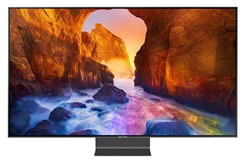 Téléviseur Qled Ultra HD 4K 189 cm Samsung QE75Q90R - TV QLED 75 pouces - TV connecté / Smart TV - Netflix - Tuner TNT terrestre / satellite - Enregistrement PVR (sur USB) - Son 60 W