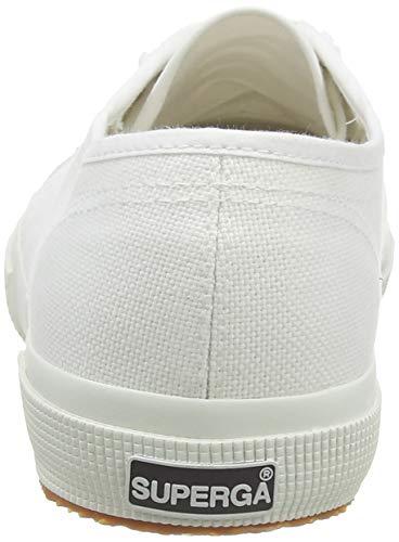 Superga COTU CLASSIC Unisex Sneaker, Weiß - 4